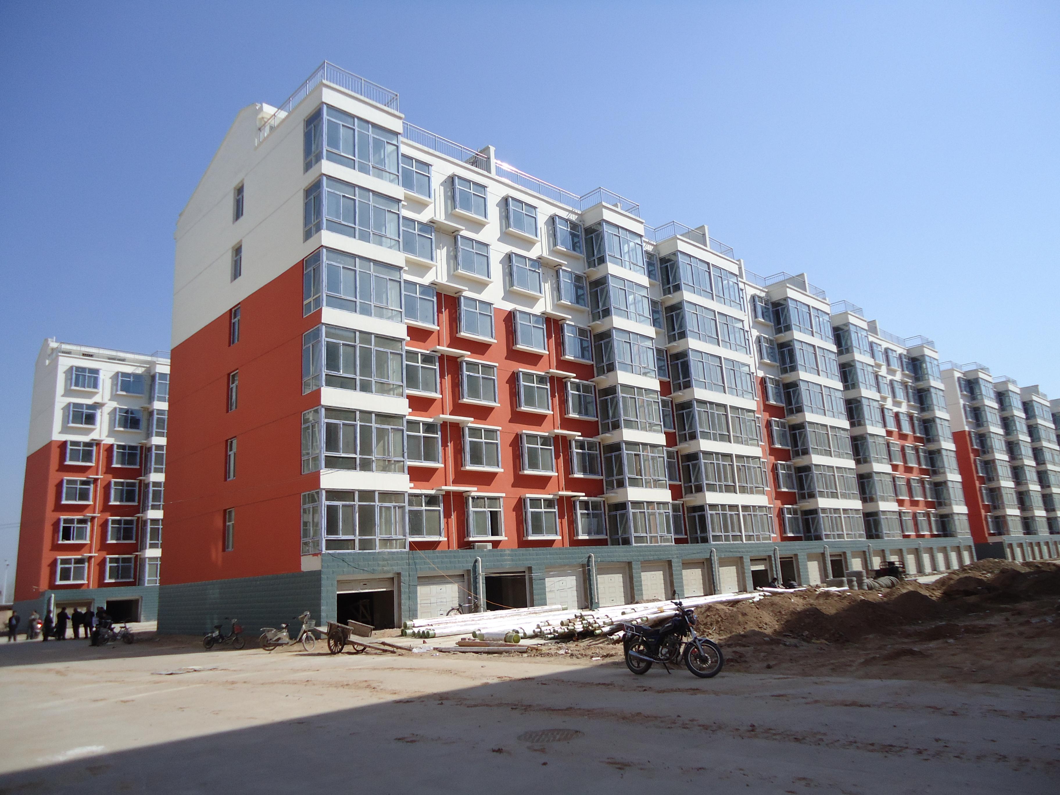 河北临漳民居工程,外墙乳胶漆